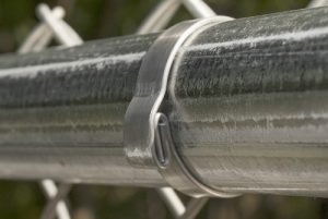 A Self-Locking Fabric Band is ideal in high traffic areas such as residential, educational and recreational areas.