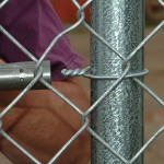 chain link fence ties