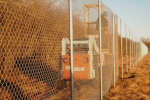 fence dispenser
